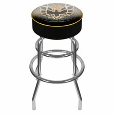 "Pontiac Firebird 31"" Swivel Bar Stool with Cushion"