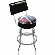 "41.75"" Pontiac Padded Swivel Bar Stool"