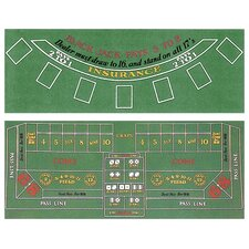 Blackjack and Craps Two Sided Layout