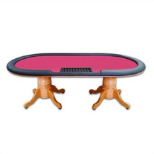 "90"" Deluxe Hold'em Table With Removable Rail"
