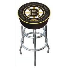 "NHL Montreal Canadians 31"" Bar Stool with Cushion"