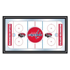 NHL Hockey Rink Framed Graphic Art