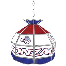 """NCAA 16"""" Stained Glass Tiffany Lamp"""