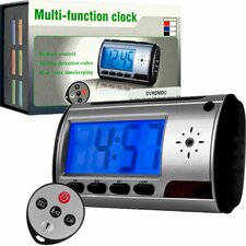 Spy Digital Alarm Clock DVR