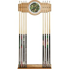 Hunt Camo Billiard Cue Rack with Mirror