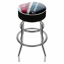 "<strong>Trademark Global</strong> Pontiac 31"" Swivel Bar Stool with Cushion"