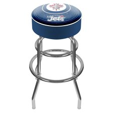NHL Winnipeg Jets Padded Barstool