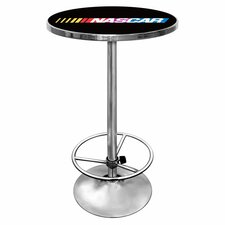 <strong>Trademark Global</strong> NASCAR Chrome Pub Table
