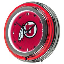 "14.5"" NCAA Neon Wall Clock"