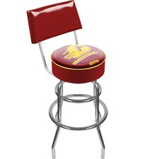 NCAA Swivel Bar Stool with Cushion