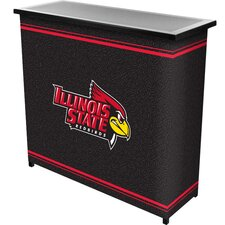 NCAA 2 Shelf Portable Bar with Case