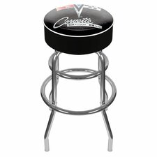"<strong>Trademark Global</strong> Corvette C2 31"" Swivel Bar Stool with Cushion"