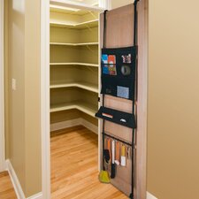 Home 6-Compartment Right-At-Home Over Door Organizer