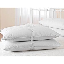 Duck Feather and Down Pillow in White (Set of 2)