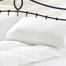 Finest Goose Feather and Down Pillow in White