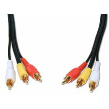 "Standard Series 72"" General Purpose 3 RCA Video Cable"