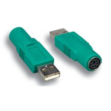 USB to Mouse Adapter A Male/Mini DIN