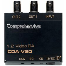 1 x 2 Composite Video Distribution Amplifier