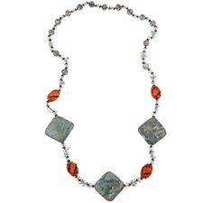 Fashion Resin Beaded Necklace
