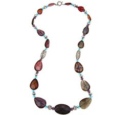 Fashion Agate Beaded Necklace