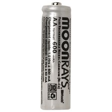 600 Mah Rechargeable NiCd AA Batteries (Pack of 8)