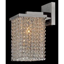 <strong>Worldwide Lighting</strong> Prism 1 Light Wall Sconce