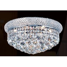 Empire 8 Light Flush Mount
