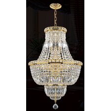 <strong>Worldwide Lighting</strong> Empire 12 Light Chandelier