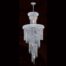 Empire 10 Light Crystal Chandelier