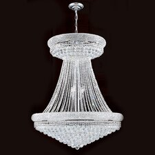 <strong>Worldwide Lighting</strong> Empire 28 Light Crystal Chandelier
