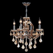 Catherine 4 Light Crystal Chandelier