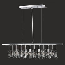 <strong>Worldwide Lighting</strong> Nadia 10 Light Pendant