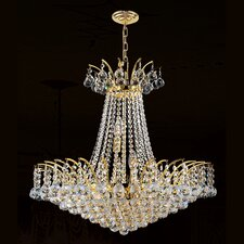 Empire 11 Light Crystal Chandelier