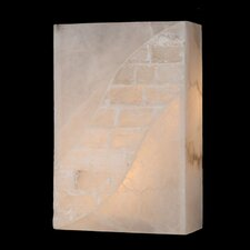 <strong>Worldwide Lighting</strong> Pompeii 1 Light Wall Sconce