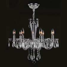 <strong>Worldwide Lighting</strong> Gastby 8 Light Chandelier