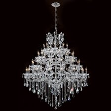 Maria Theresa 44 Light Crystal Chandelier