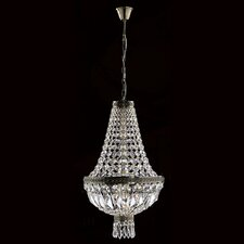 Metropolitan 1 Light Crystal Chandelier