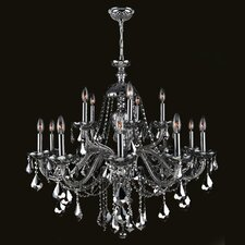 Provence 15 Light Crystal Chandelier