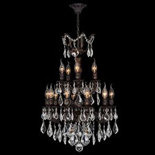 <strong>Worldwide Lighting</strong> Versailles 15 Light Crystal Chandelier