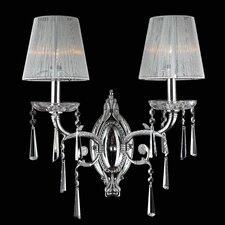 <strong>Worldwide Lighting</strong> Orleans 2 Light Wall Sconce