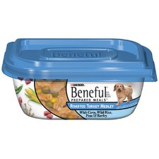 Prepared Meals Roasted Turkey Medley Wet Dog Food (10-oz, case of 8)