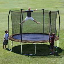 Camo 12' Round Trampoline and Enclosure