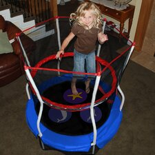 "<strong>Skywalker Trampolines</strong> Seaside Adventure Bouncer 60"" Trampoline with Enclosure"