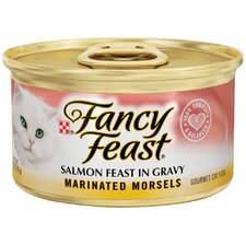 Marinated Morsels Salmon Wet Cat Food (3-oz can,case of 24)