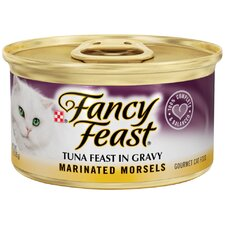 Marinated Morsels Tuna Wet Cat Food (3-oz can,case of 24)