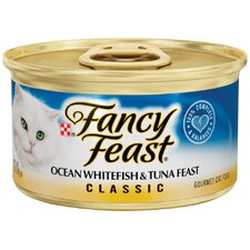 Classic Ocean Whitefish and Tuna Wet Cat Food (3-oz can,case of 24)