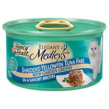 Elegant Medley Shredded Tuna Cat Food (Case of 24)