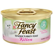 Kitten Tender Turkey Wet Cat Food (3-oz can,case of 24)