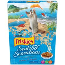 Seafood Sensations Dry Cat Food (Case of 12)