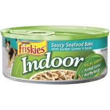 Indoor Seafood with Rice Wet Cat Food (5.5-oz can, case of 24)